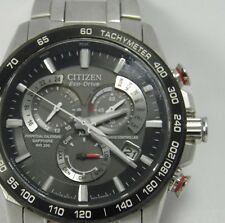 Mens Citizen Eco Drive Perpetual Calendar Radio Controlled E650 wrist watch