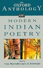The Oxford Anthology of Modern Indian Poetry-ExLibrary