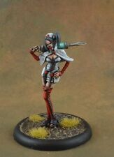 Painted Nurse from Malifaux miniature female exam time