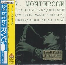 J.R. Monterose - S/T w/ Horace Silver BLUE NOTE RVG 1ST PRESS JAPAN MINI LP CD