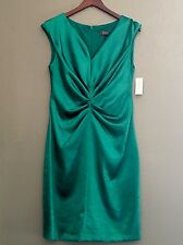 Women's NWT Dressbarn Emerald Green Dress Party Collection Cocktail Size 10