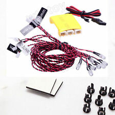 Simulated 8 LED lighting kit System fo RC Plane Helicopter Quadcopter KK MWC DIY