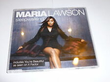 MARIA LAWSON - Sleepwalking - 2006 UK 2-track CD Single