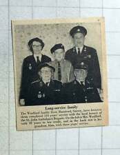 1956 The Woolford Family Banstead Surrey Long Serving St John Ambulance Family