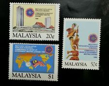 Malaysia Commonwealth Heads Of Government Meeting 1989 Dance Costumes (stamp MNH