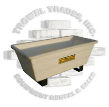 Poly Mud Tub Poly Tough Tub Mortar Box Trough Grout Box