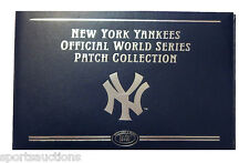WILLABEE & WARD ~ NEW YORK YANKEES WORLD SERIES PATCH COLLECTION ~ BINDER ONLY