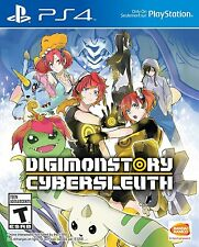 Digimon World Cyber Sleuth [PlayStation 4 PS4, Detective Investigate Game] NEW