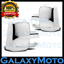 03-15 Chevy Silverado 1500+2500+3500+all HD Full Towing Mirror Chrome Cover 2013