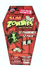S.L.U.G. ZOMBIES series 2 set 12 slug NEW in coffin like muscle men walking dead