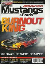 MODIFIED MUSTANGS  & FORDS, AUGUST,2013 (THE SOURCE FOR CLASSIC FORD PERFOMANCE