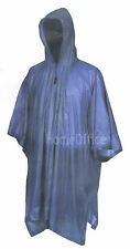 Poncho Waterproof Cape With Hat - Also Use as Ground Sheet Raincoat