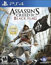 Assassin's Creed IV Black Flag PS4 Sony PlayStation 4 Brand New Sealed Fast Ship