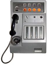 AUTOCOLLANT STICKER 55cmX41cm TROMPE L'OEIL MURAL TELEPHONE CABINE VINTAGE TA086