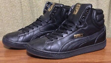 Puma First Round Mens 7 Black Leather Hightop Basketball shoes Style 34312207 ~9