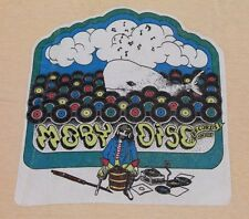 XS * vtg 70s MOBY DISC RECORDS Van Nuys California store t shirt * 51.88