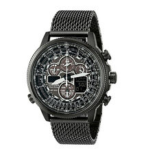 CITIZEN JY8037-50E Navihawk A-T Eco-Drive Radio Chronograph Men's Black Watch