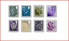 GBR0609 Stamps for Wales, Scotland, Ireland and England 8 stamps