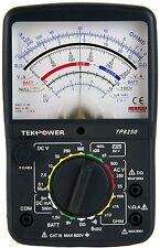 Tekpower TP8250 AC/DC Analog Multimeter with NULL Middle Position 0