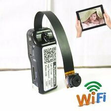 Wireless Video Audio WIFI IP Network micro spy hidden Surveillance camera DVR