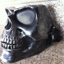 Hot Halloween Skeleton Mask Face Tactical Military Masque Costume Play Mask