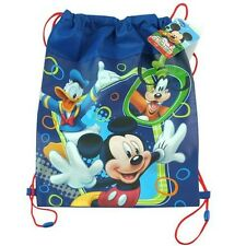 "NEW DISNEY ""MICKEY"" MOUSE NON WOVEN SLING BAG CLUBHOUSE DISNEY JUNIOR"
