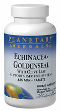 Planetary Herbals Echinacea Goldenseal with Olive Leaf 635 mg 30 Tablet 30 tab