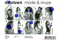 Netherlands 2016 MNH Doutzen Kroes Fashion Model & Muse 10v M/S Stamps