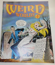 Weird Worlds Magazine Horror Comic Inside No.4 1980 082314R
