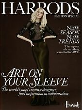 HARRODS Magazine FASHION SPECIAL A/W 2013 Alexa Yudina CLAIRE COLLINS @New