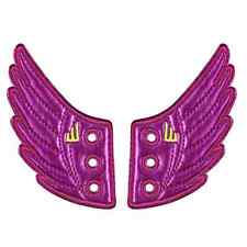 Purple Foil Shwings Wings 4 Shoes Make Old shoes New Again or Make New Shoes Fly