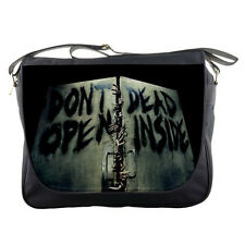 The Walking Dead Zombie Dont Open Dead Inside Messenger School Laptop Bag