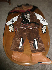 Disney Store Jack Sparrow Pirate Costume childs XXS  2/3