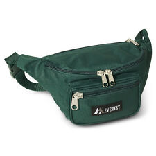 Everest Fanny Pack. 044MD Green/New. Cotton Poly. New. Free Shipping.