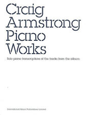 Craig Armstrong Piano Works Learn to Play Moulin Rouge Music Book