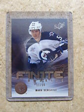 11-12 UD SPx RC Finite Rookies RC MARK SCHEIFELE /99