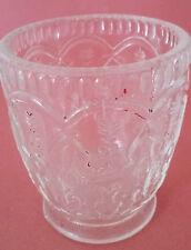 TRES JOLI VERRE EN VERRE MOULE XIXème - RARE ANTIQUE FRENCH PRESSED CLEAR GLASS