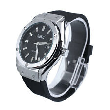 Silver Jaragar Automatic Men's Men Stainless Steel Mechanical Watch Black Gift