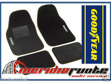 SET TAPPETI MOQUETTE UNIVERSALI GOOD YEAR ANT. 43X64cm POST.41X29cm PER JAGUAR