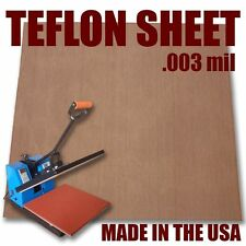 "Teflon Cover Sheet 16""X16"" 3mm for Transfer Paper Iron-On and Heat Press :)"