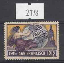 2178)  Panama Pacific International Exposition - San Francisco 1915