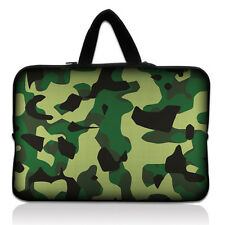 camouflage Laptop Soft 17'' Sleeve Carrying Bag Case Cover For HP ENVY Dell XPS