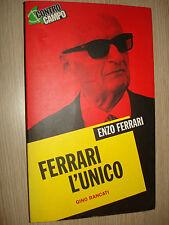 LIBRO BOOK ENZO FERRARI L'UNICO GINO RANCATI FORMULA 1 UNO F1