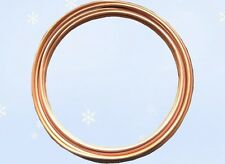 "HVAC Plumbing & Refrigeration Copper Tubing 3/4"" OD 50 Ft. Per Coil. Made in USA"