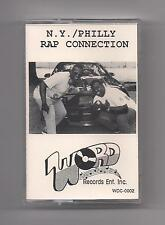 N.Y. / PHILLY RAP CONNECTION Cassette rare original Word-Up Records SEALED