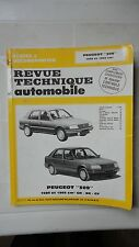 REVUE TECHNIQUE AUTOMOBILE PEUGEOT 309 1580 1905 cm3 GR SR GT ETAI