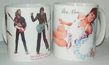 ROXY MUSIC -  'SET OF TWO' 11oz MUGS - . SAVE 25% ON INDIVIDUAL SELLING PRICE