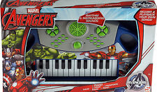 Marvel Avengers Child's Musical Piano Toy - Battery Operated Electronic Keyboard