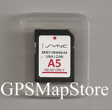 2013 2014 Ford Escape Flex Fusion Taurus F150 Navigation SD Card U.S Map VER A5