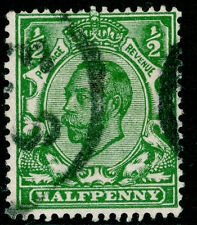Sg344, ½d green, FINE used.